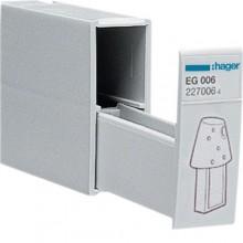 Pojemnik na trzy klucze programowe EG005 montaż na szynie DIN 35mm EG006