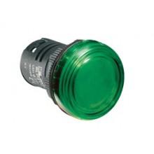Lampka jednoczęściowa LED zielona 24VAC/DC 8LP2TILB3P